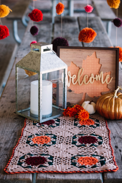 Sweet Cinnamon Table Runner