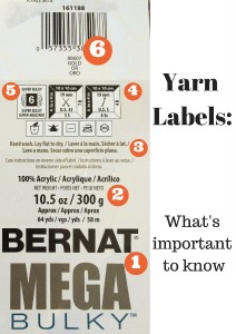 Yarn Label Photo