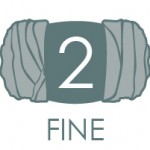 Fine weight yarn