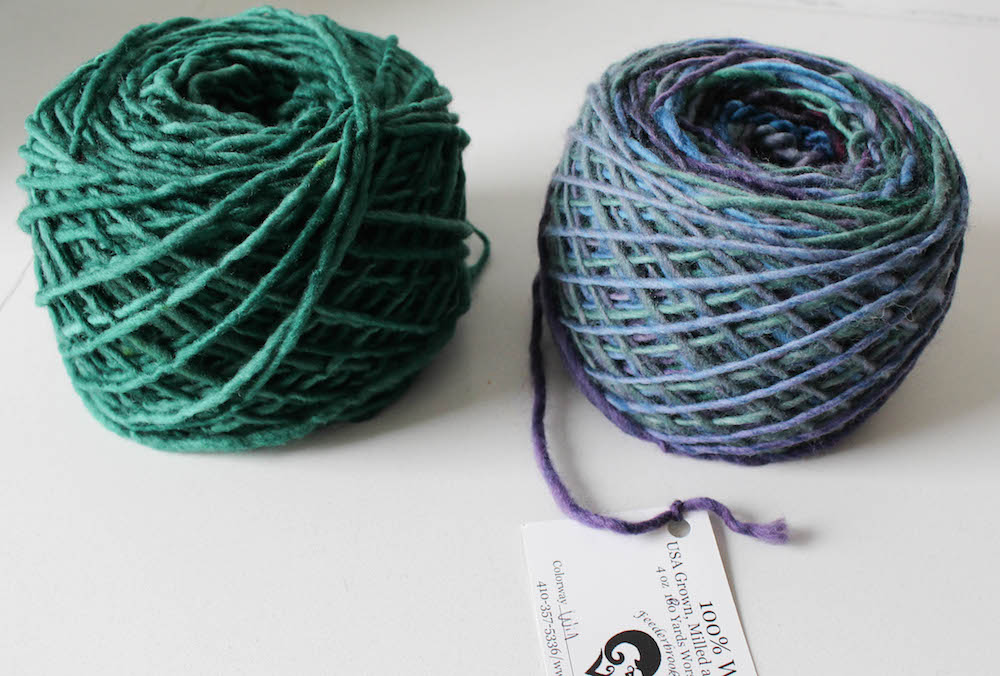 How to Wind Yarn into a Cake by Underground Crafter for I Like Crochet 13