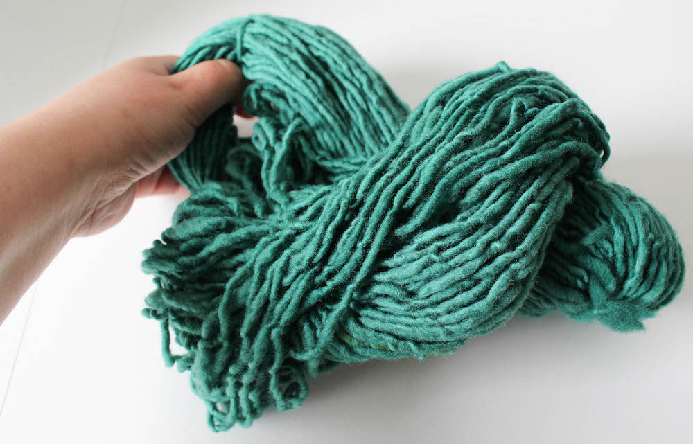 How to Wind Yarn into a Cake by Underground Crafter for I Like Crochet 3