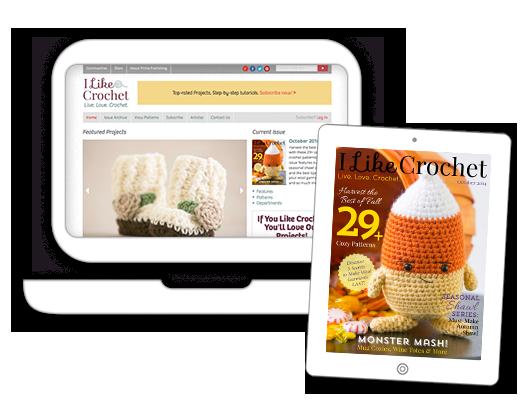 Subscribe to I Like Crochet Magazine