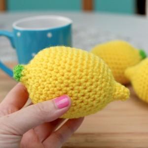 crochet lemon