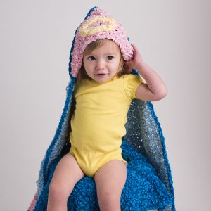 Halo Hooded Angel Blanket