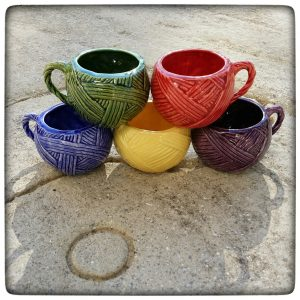 Yarn Ball Mug