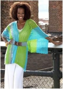 multi wear crochet poncho