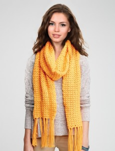 Simply Straight-Up Crochet Scarf