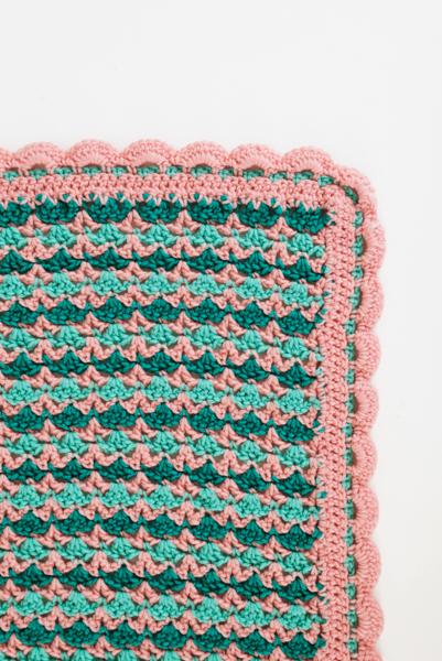 Crochet Pattern Rose Trellis Afghan : Secret Garden Throw - I Like Crochet