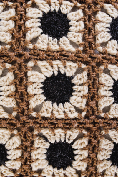Winter Gerbera Daisy Pillow I Like Crochet