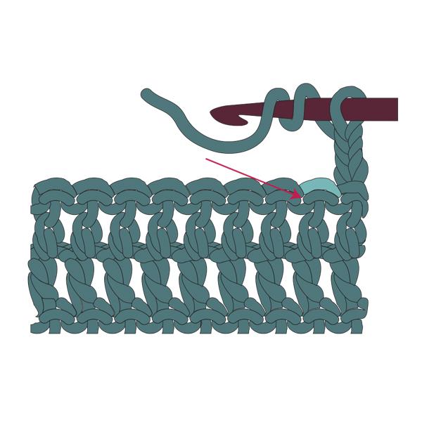 How to Treble Crochet 1