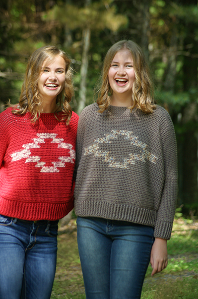 Two Sisters Lake Sweater