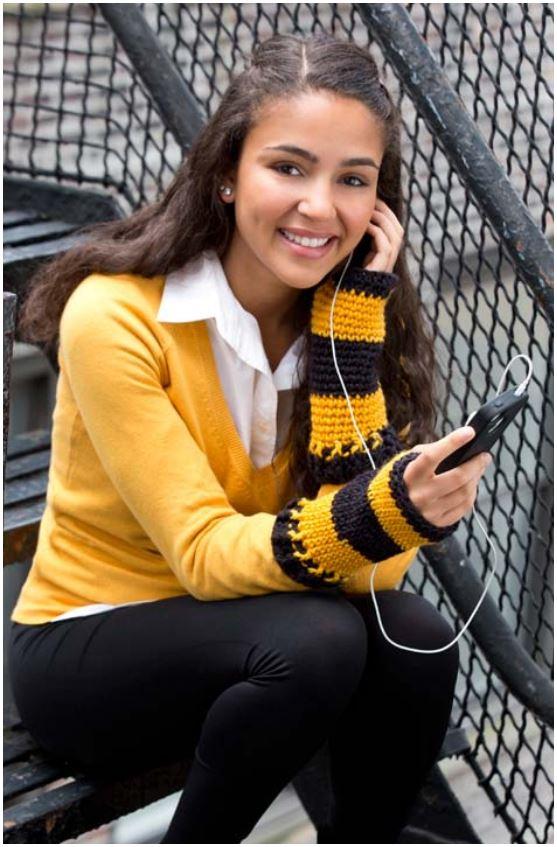 Single Crochet Wristers