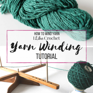 How to Wind Yarn into a Cake
